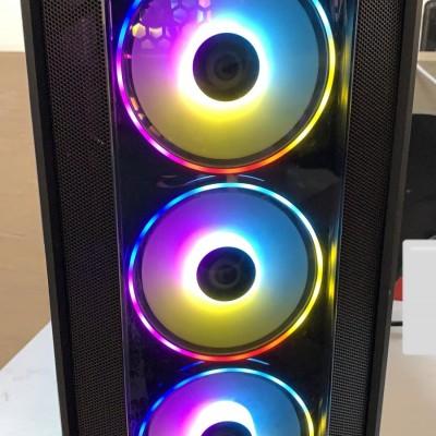 RAMPAGE IŞIKLI KASA İ3 4130 3,4 GHZ 16GB-120SSD-R72904GB 512BİT