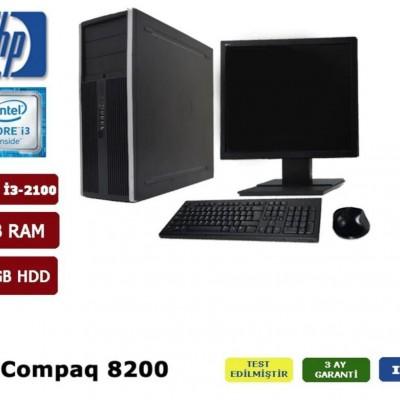 HP Compaq 8200 İntel Core