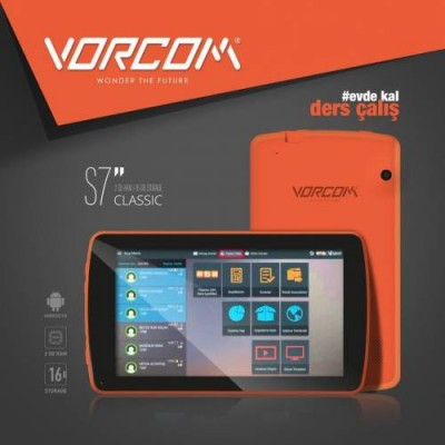 VORCOM S7 2GB RAM 16 GB HAFIZA ANDROID 9.0