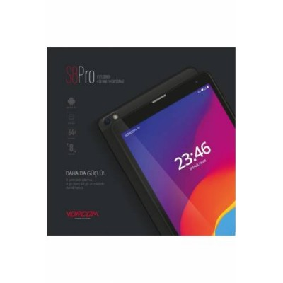 """Vorcom S8 Pro 4 GB 64 GB 8"""" Tablet"""