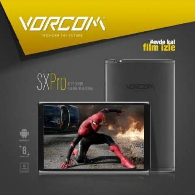 VORCOM SX PRO 10 İNÇ TABLET 4 GB RAM 64 GB DAHİLİ HAFIZA ANDROID 9.0 IPS EKRAN